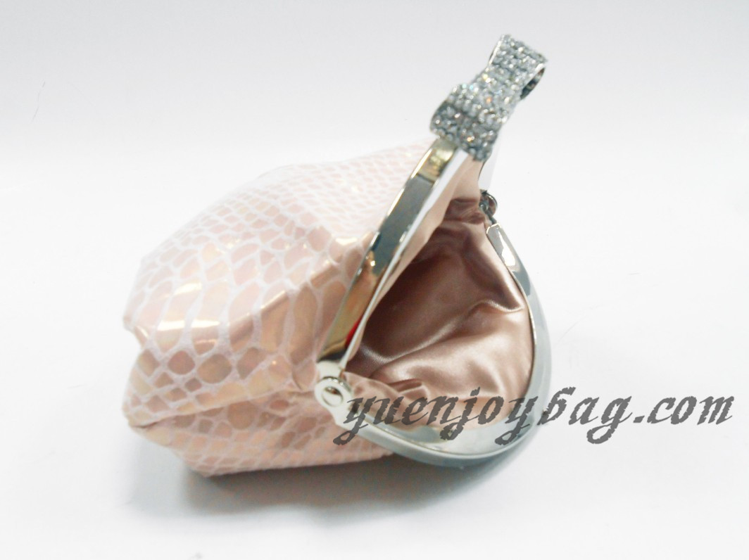 Snake Skin Embossed PU Leather small coin purse