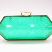 candy color transparent clear acrylic clutch bag for women from China evening purse manufacturer