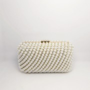 elegant wedding beaded crystal rhinestone clutch bag