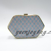 Check pattern plaid glitter shiny bling party clutch handbag from China manufacturer